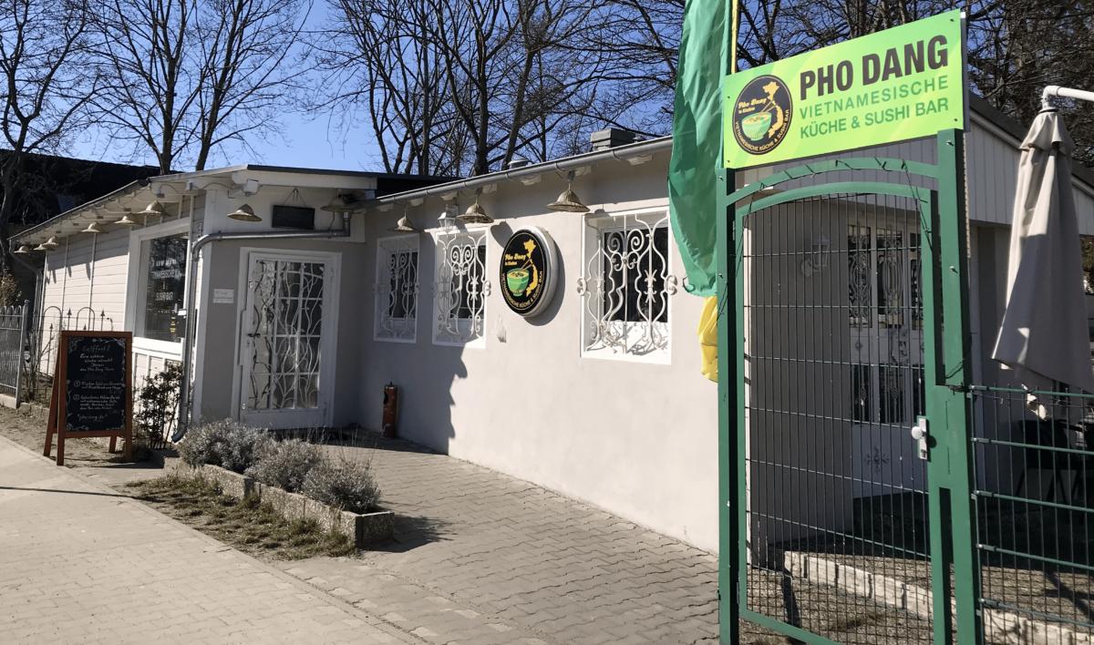 Restaurant Pho Dang Kladow - Sonne, blauer Himmel